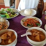 2 Massaman curry and others