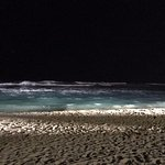 Beach during the night