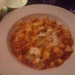 gnochi with meat ragu sauce - delicious!