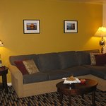 Homey and comfortable furnishings in nicely appointed suites welcome you.