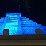 The Maya at night