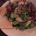 Greek Gyro salad= Delicious