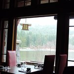 Views of Nita Lake from your table