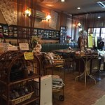 A very simple and relaxing handmade cafe beside kyotoya hotel