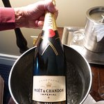Moet & Chandon on the house