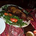 Guinea pig dinner