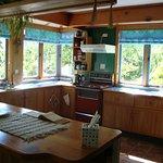 The cottage kitcen area