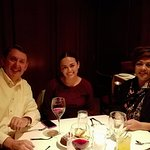 Wonderful time with my cousin and my niece at Fleming's in Tucson, Arizona.