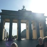 Street side of Brandenburg Gate