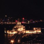 Night view of MIA from room number 1210