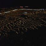 Senmaida Rice Terrace lit up