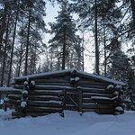 The horsemen's cabin