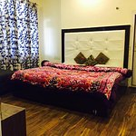 deluxe category room with all latest amenities