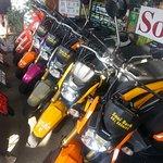 bike rent 200 per day