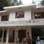 Outside view of the homestay