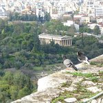 View from top of the Acropolis