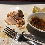 le saumon commandé à peine cuit, servi sec et trop cuit