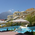 Superb and top class water slides with lufe guard always at guard and plenty of towels