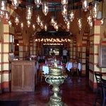 Inside Cafe Instanbul