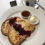 french toast with flat white