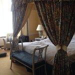 the sleeping beauty room!