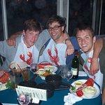 Lobster dinner amongst friends.