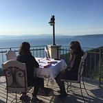 Breakfast with a view at Hotel Draga Di Lovrana
