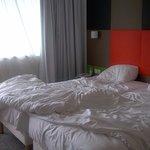 La chambre de l'hôtel