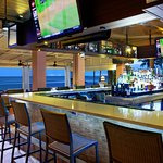 Beach front bar and restaurant, offering all-day dining.