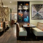 Latitudes Restaurant offers all-day dining.
