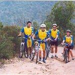 Ciclisti in difficoltà