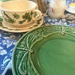 love these dishes in assorted patterns and colors. We brought home guest house placemats