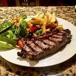 Rib Eye Steak with Fries & Salad
