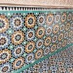 Mosaic wall and floor