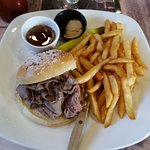 Beef on weck. (YUM!)