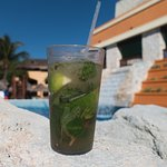 Mojito by the wave pool