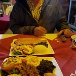 Huge Casado dishes for a very reasonable price!