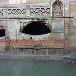 Roman Baths detail