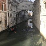 Bridge of sighs - 3 min walk
