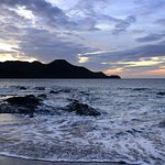 Sunset from the Beach at Hotel Riu