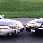 Two more Lincoln Town Car Taxicabs in our fleet