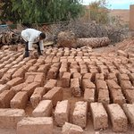Tamdaght: how they make bricks