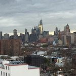 NYC skyline from Rooftop 181