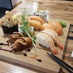 sushis crevette saumon hosomaki avocat