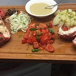 Lobster catalano at Paglia e Fieno deli/ restaurant in Battersea .. Delisciuosss!!!