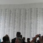 Names of those lost on that sad day.