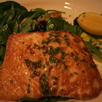 Salmon, Spinach and Baby Kale Salad