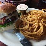 Yummy!!!! Huge portobello mushroom burger!!!