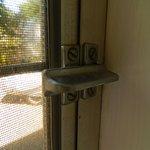 Standard window locks on motel units