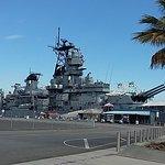Battleship USS Iowa BB-61 Foto